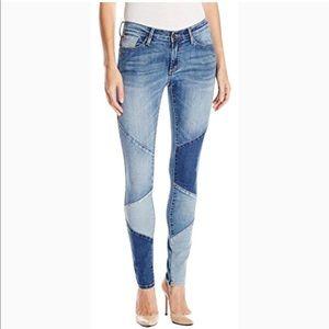 Buffalo David Bitton Faith Skinny Patchwork Jeans